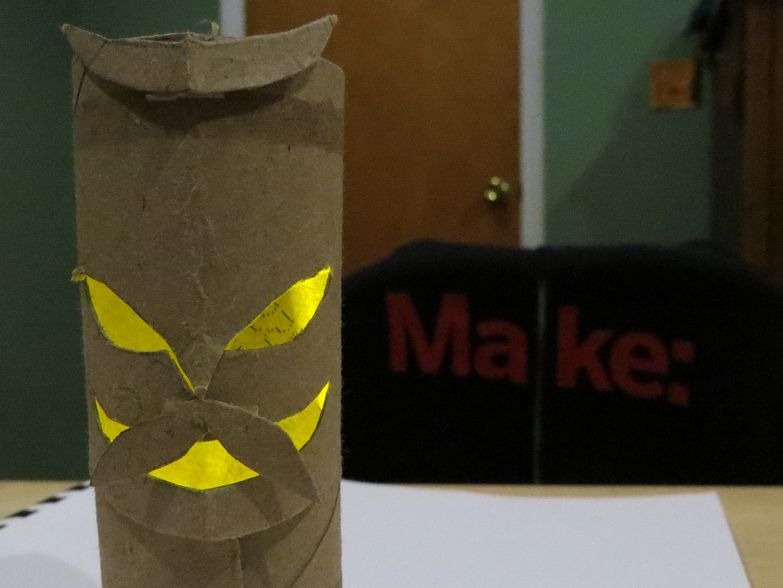 Easy Halloween TikiLantern