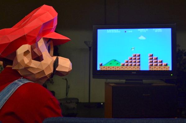Mario Big Head 2