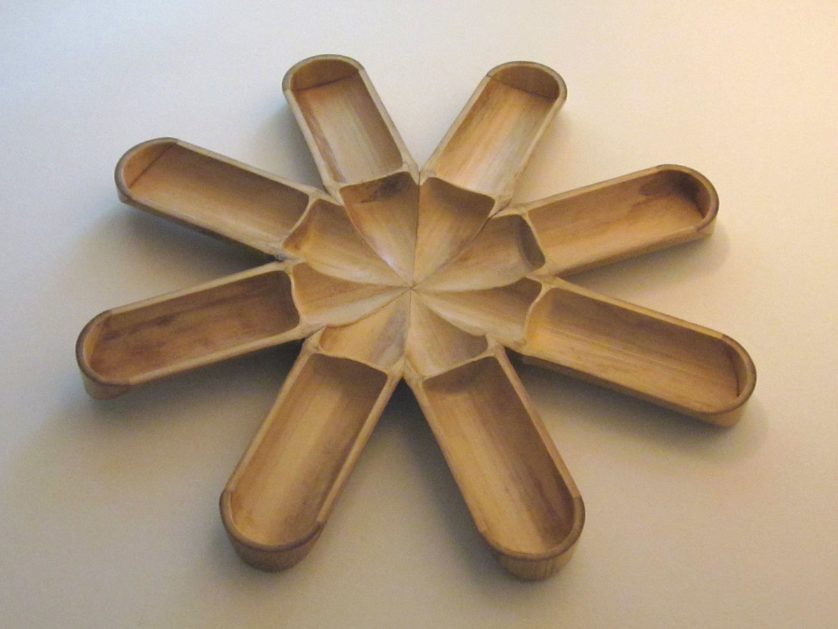 Bamboo Hors d'Oeuvre Tray