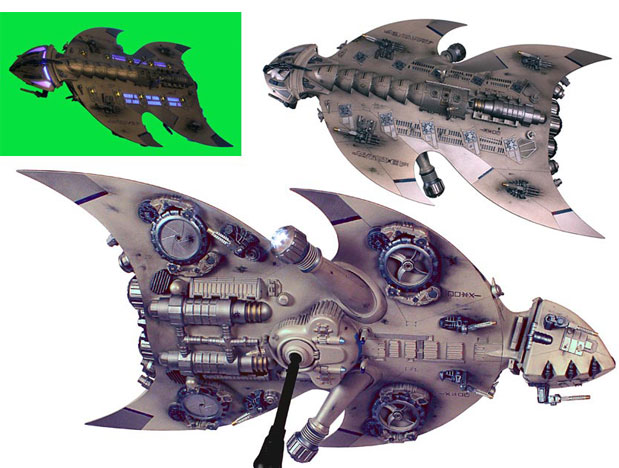 How to Design an Alien Spacecraft