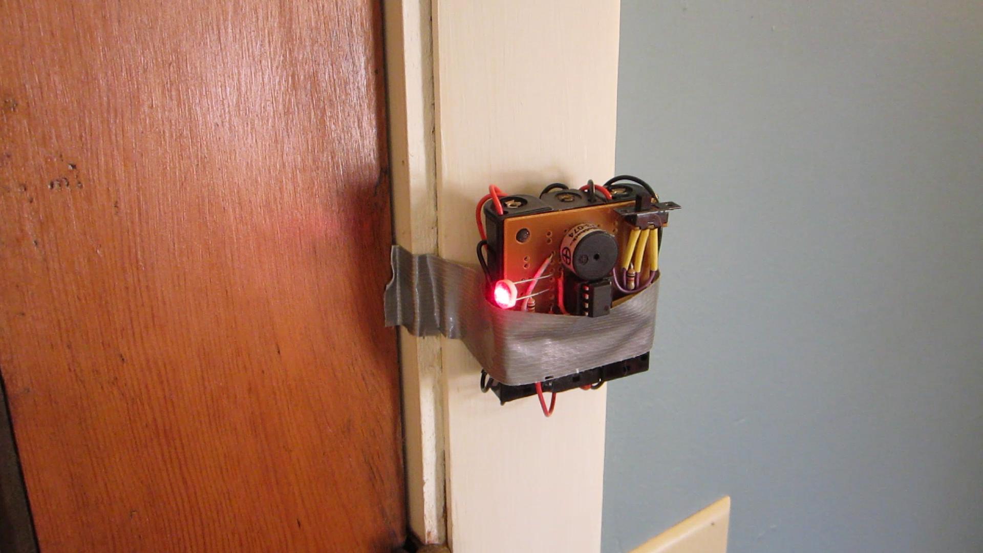 Build A Simple Laser Tripwire Alarm Make