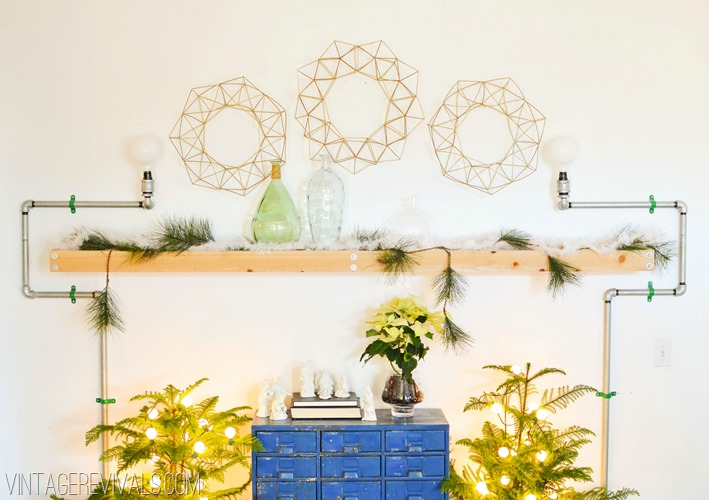 geometric wreath-2