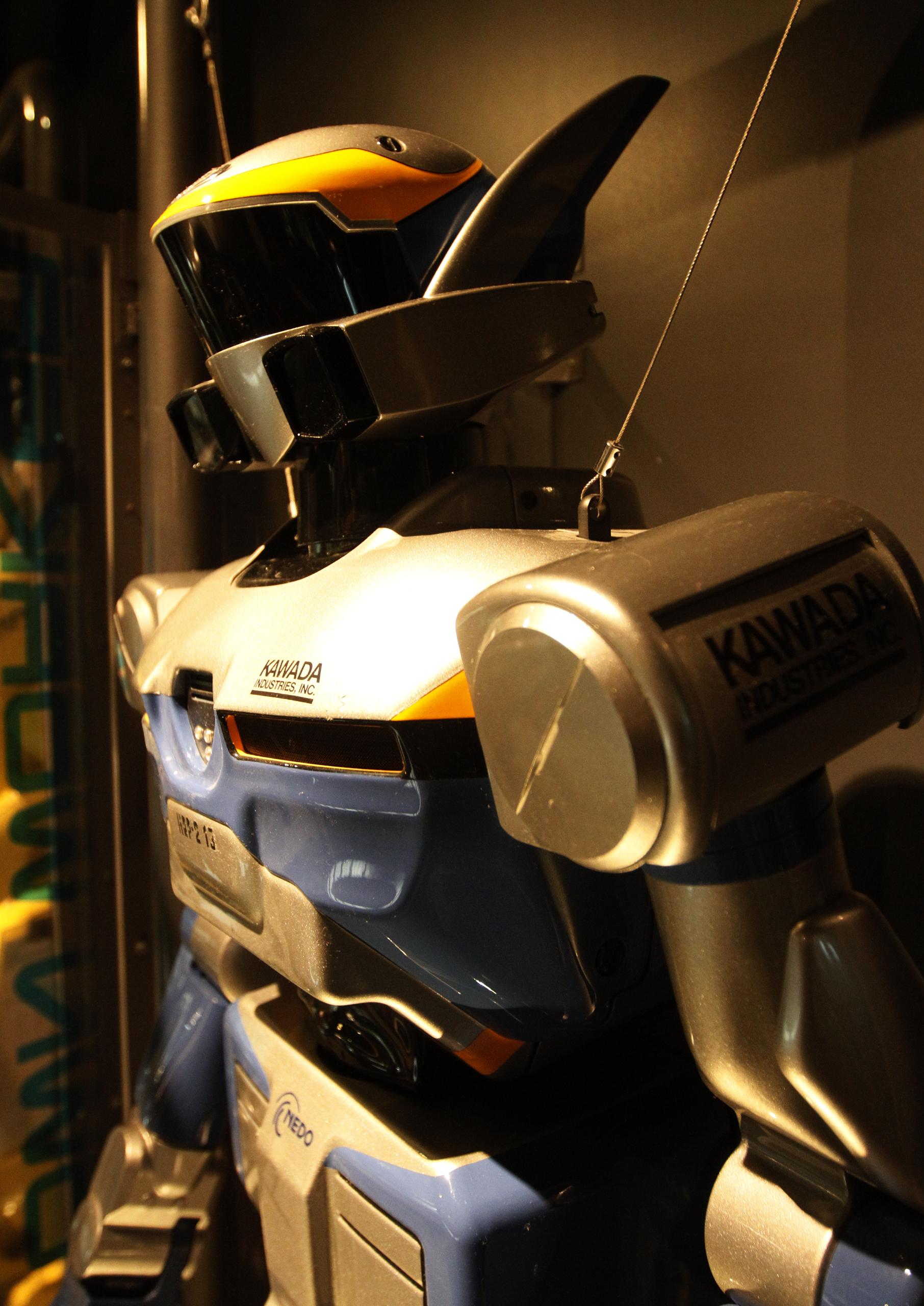 Kawada industries'; HRP-2 Photo: cc by Morio