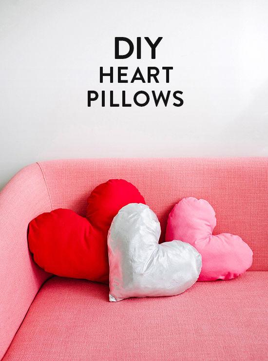 DIY-heart pillow