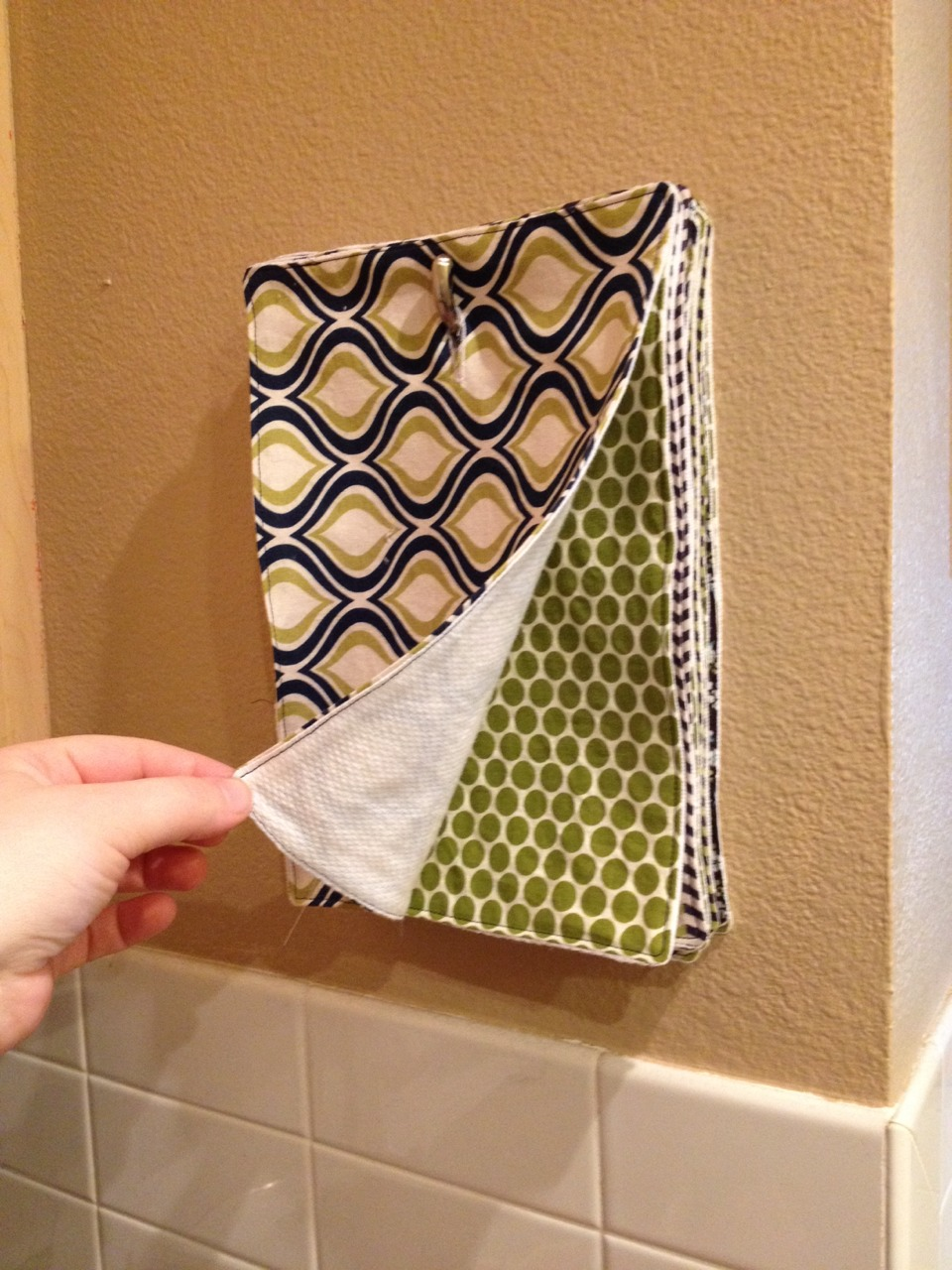 diy multi use kitchen towels make