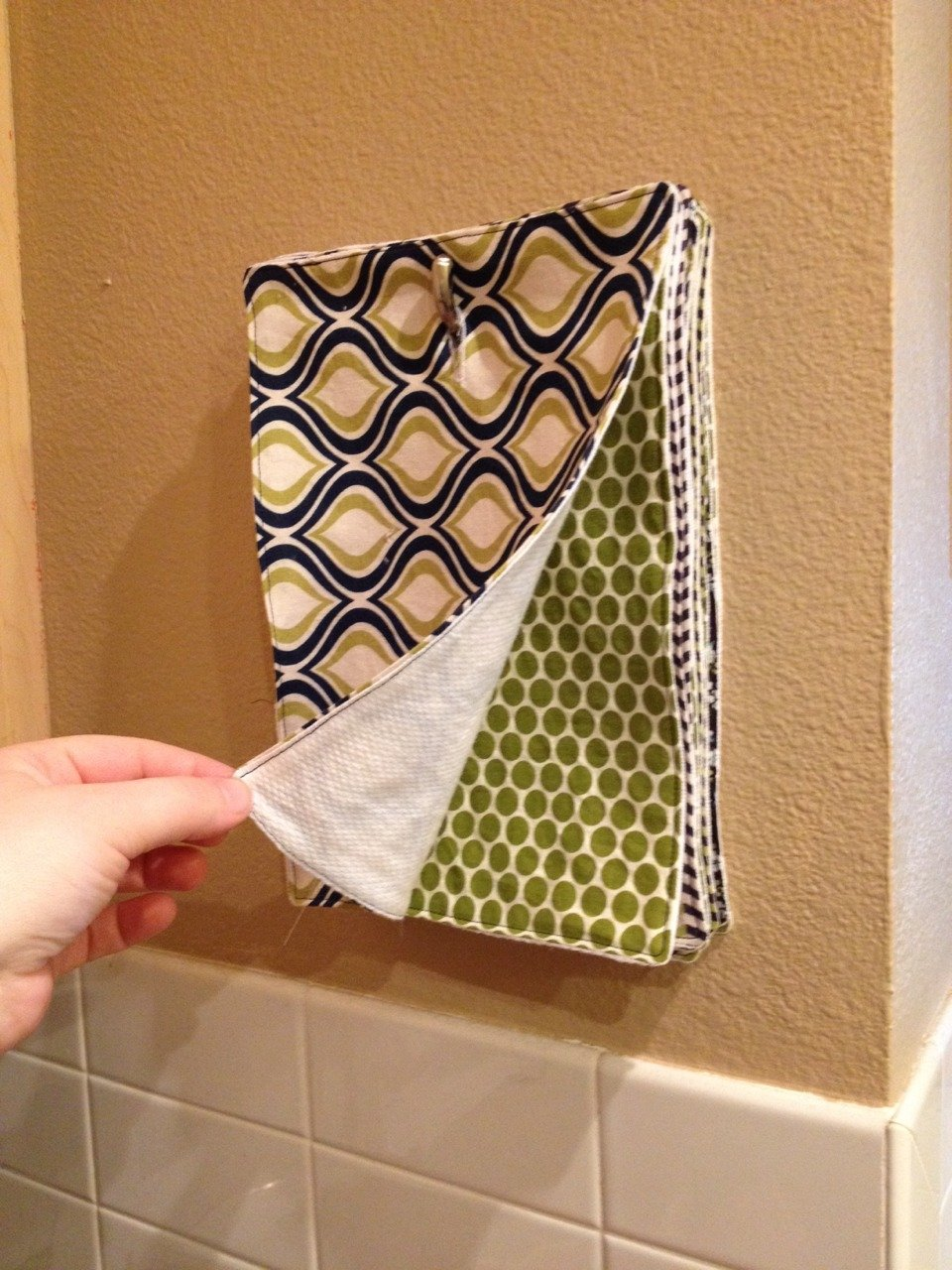 Diy multi use kitchen towels make for Kitchen crafts to make