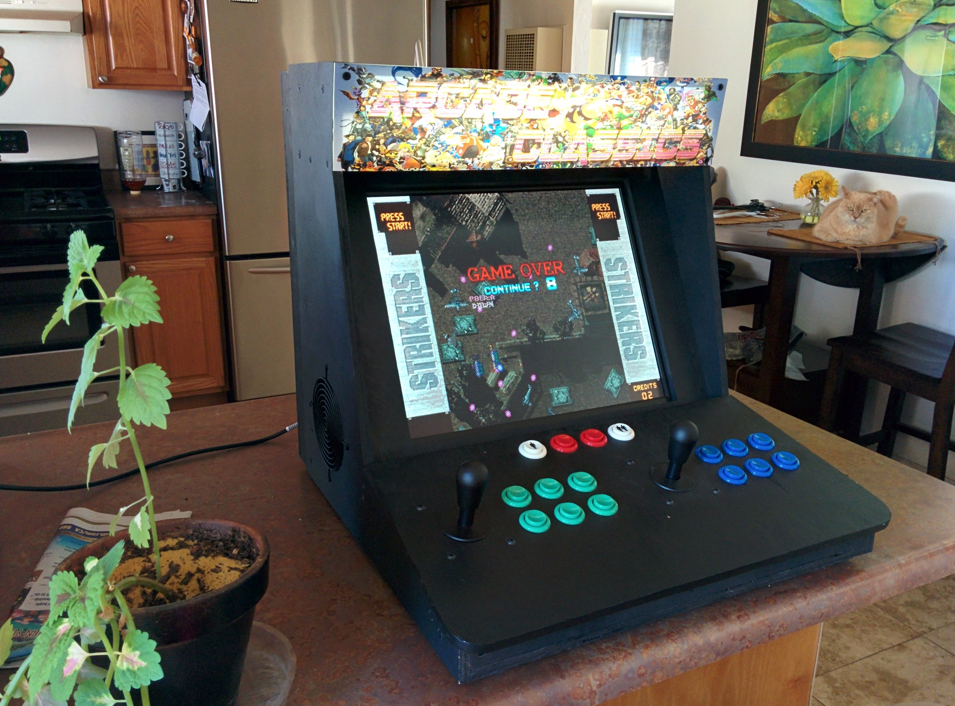 Make a Bartop Video Arcade from an Old PC Make: