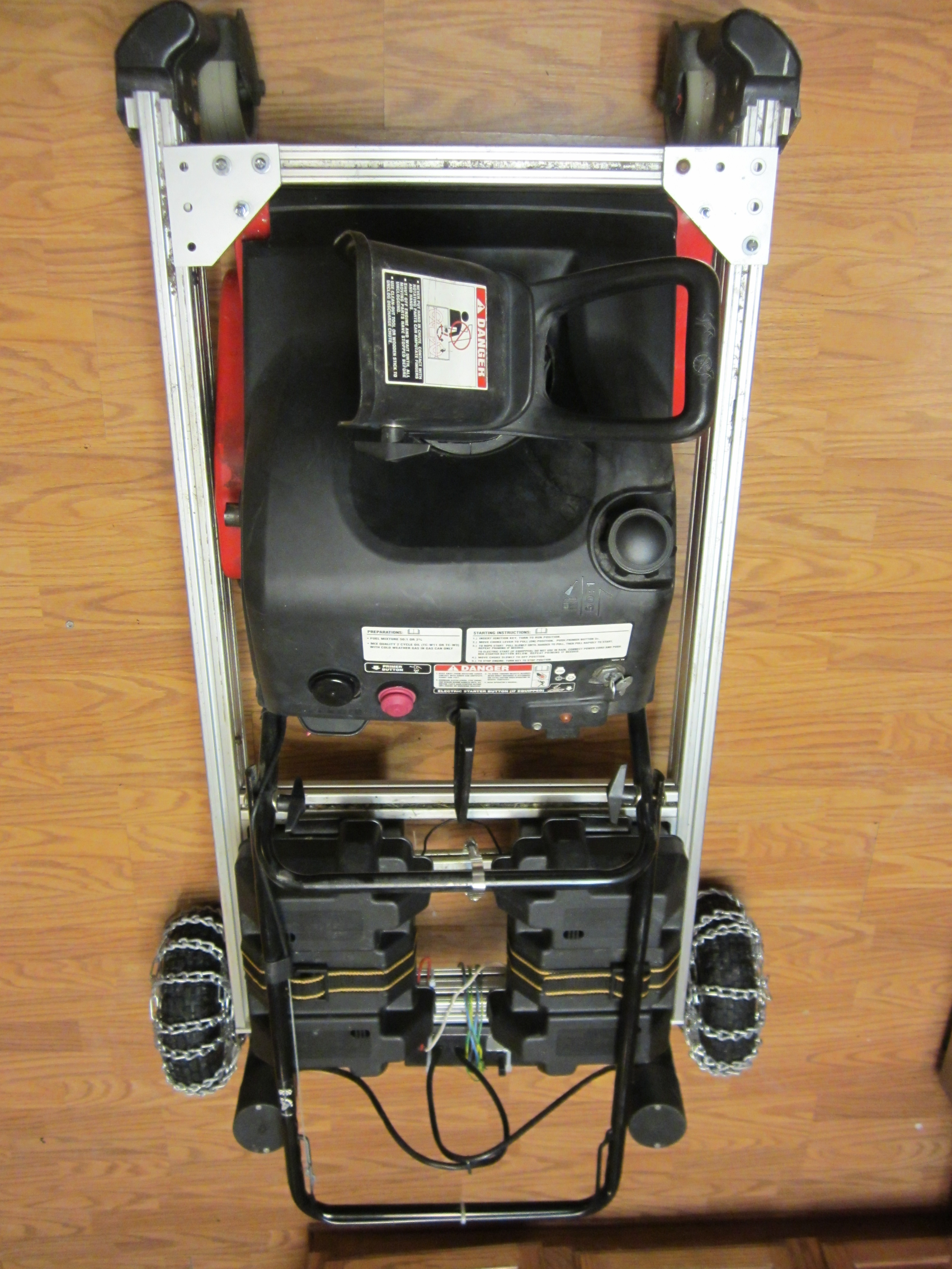Remote Control Snowblower
