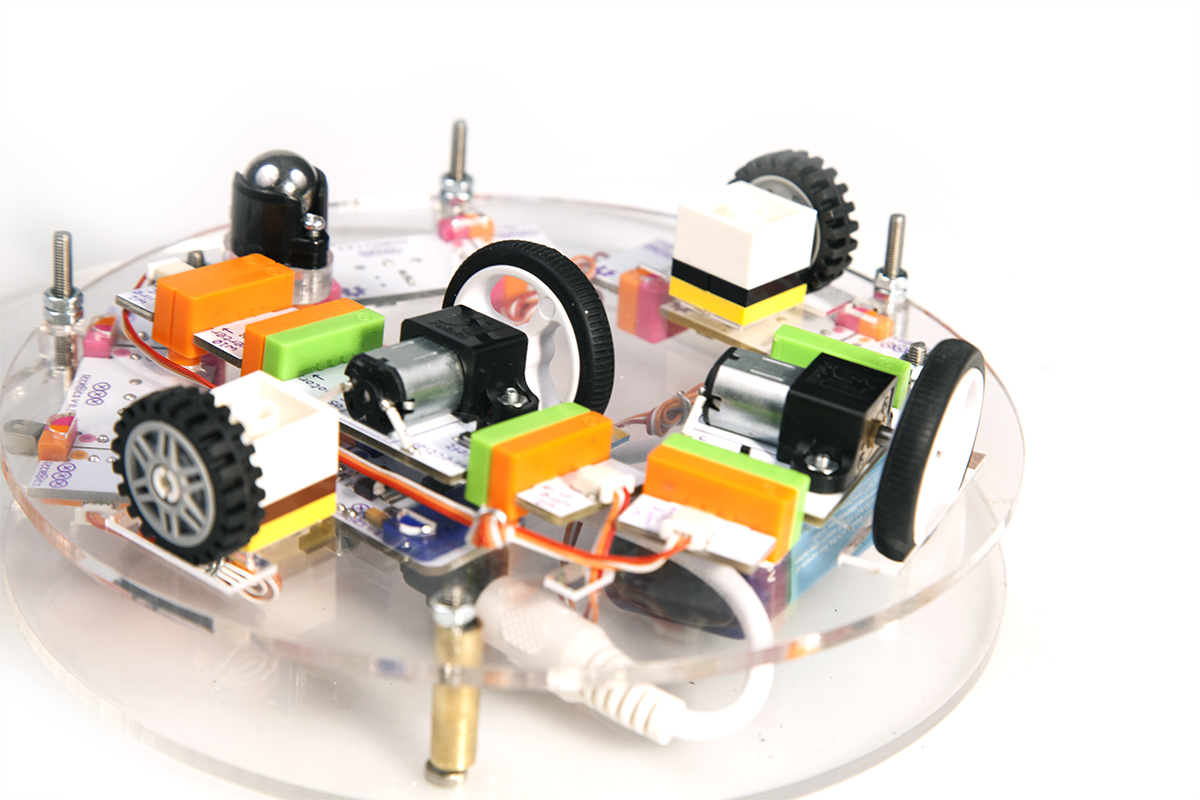 Build Your Own littleBits Robot Butler