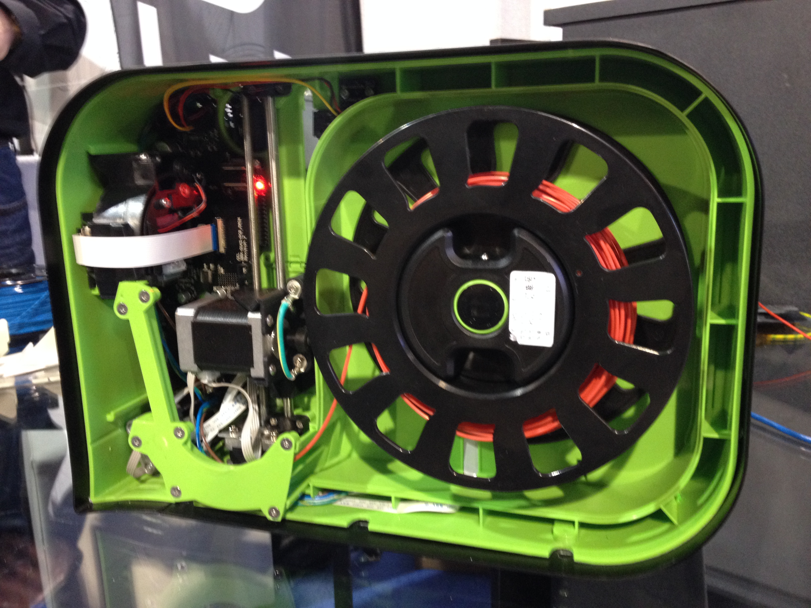 Inside the Robox at CES 2014