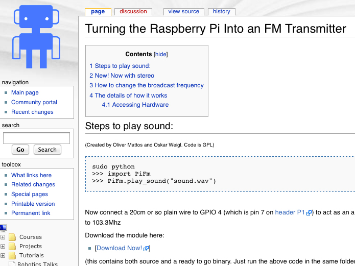 Raspberry Pirate Radio