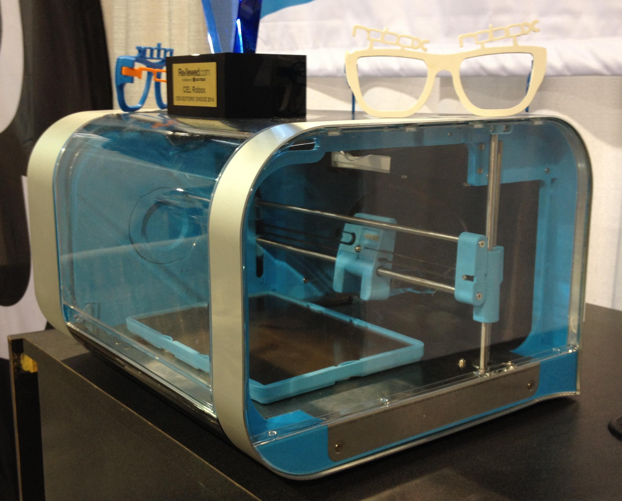 Robox Printer at CES 2014