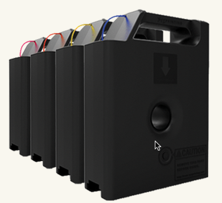 XYZprinting filament cartridges for the da Vinci 1.0