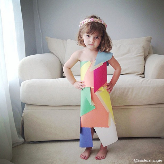 4-year-old-paper-dresses-1