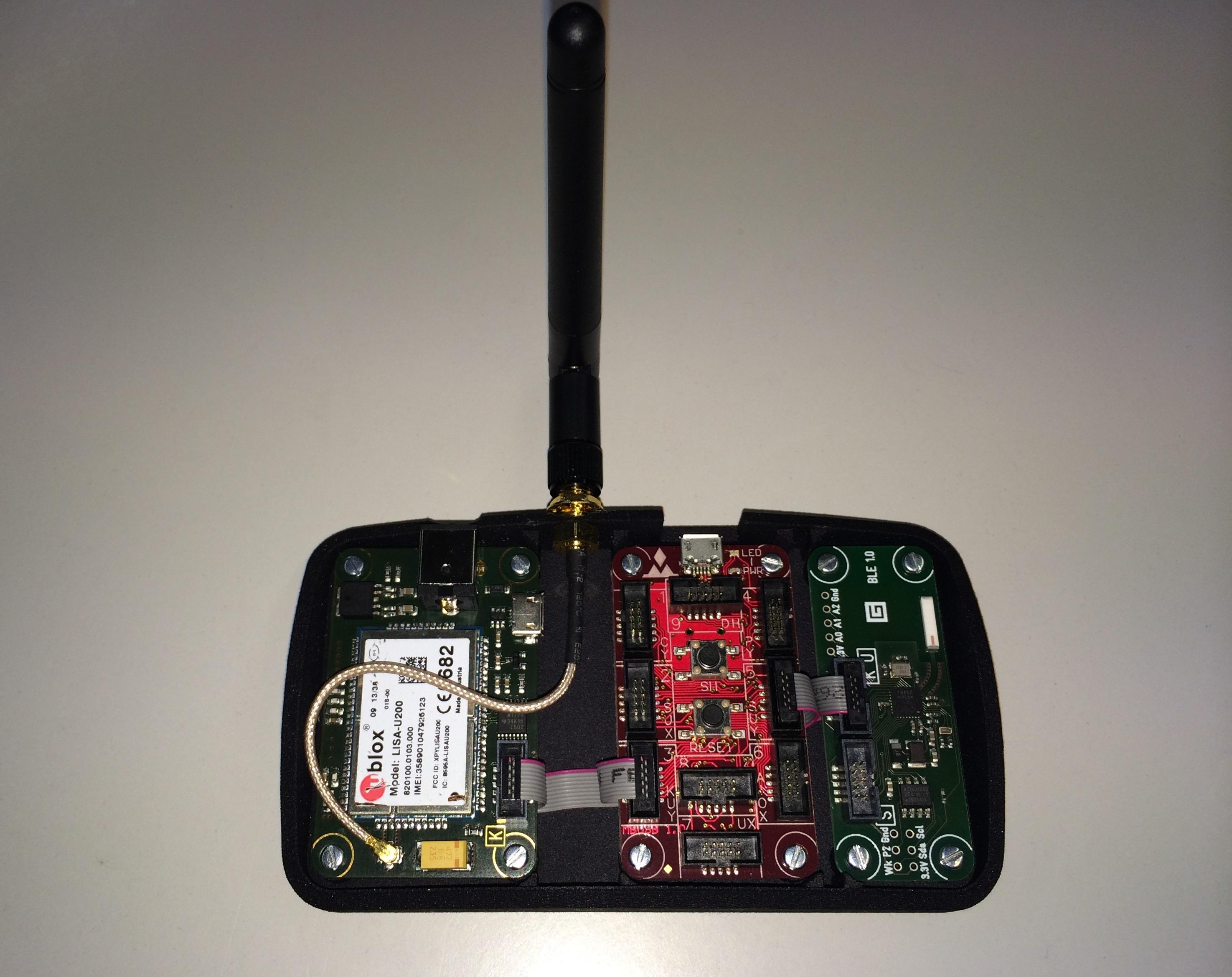 BLE-GSM Gateway V4