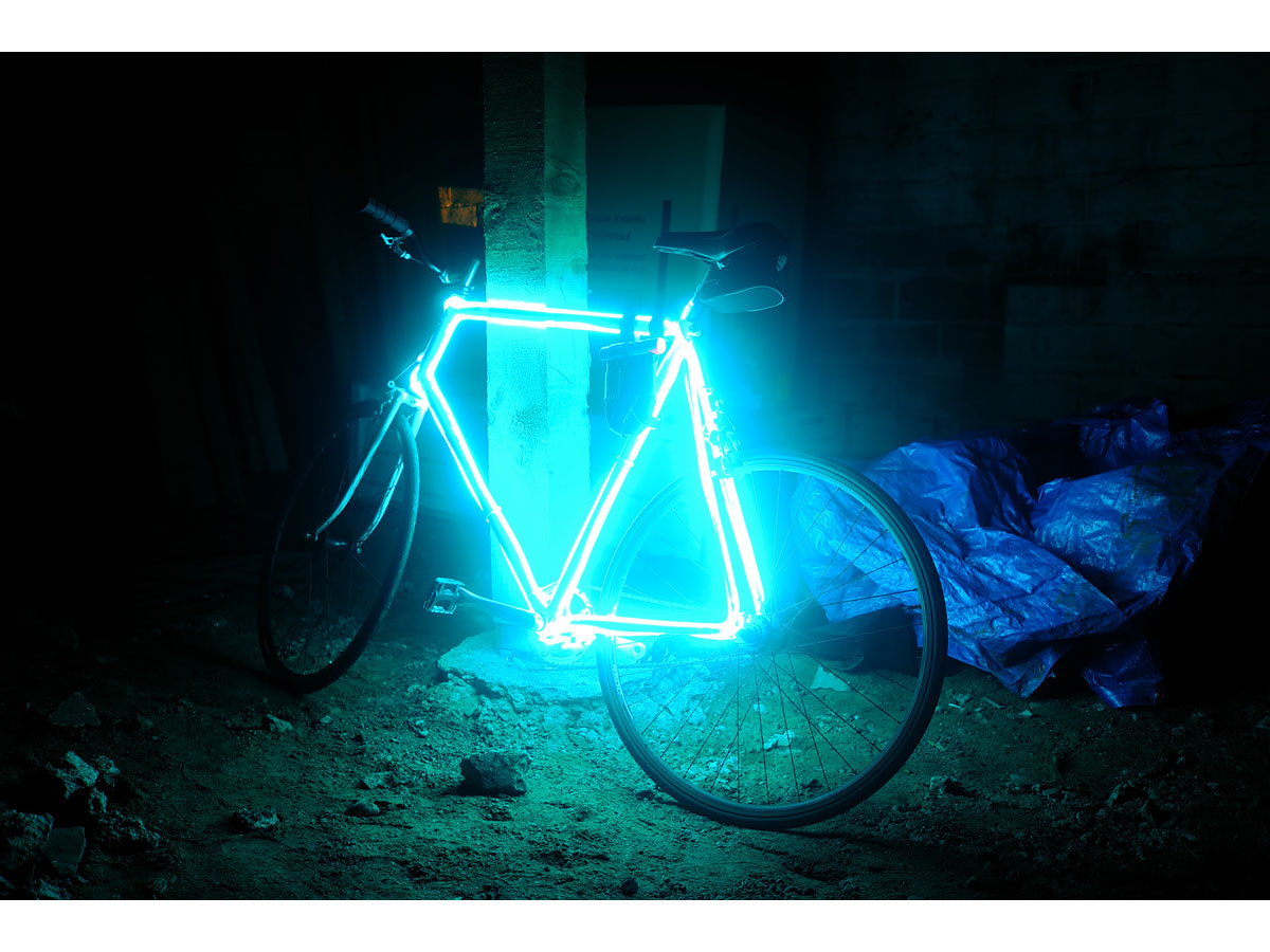 Make Your Bike Glow with EL Wire | Make: