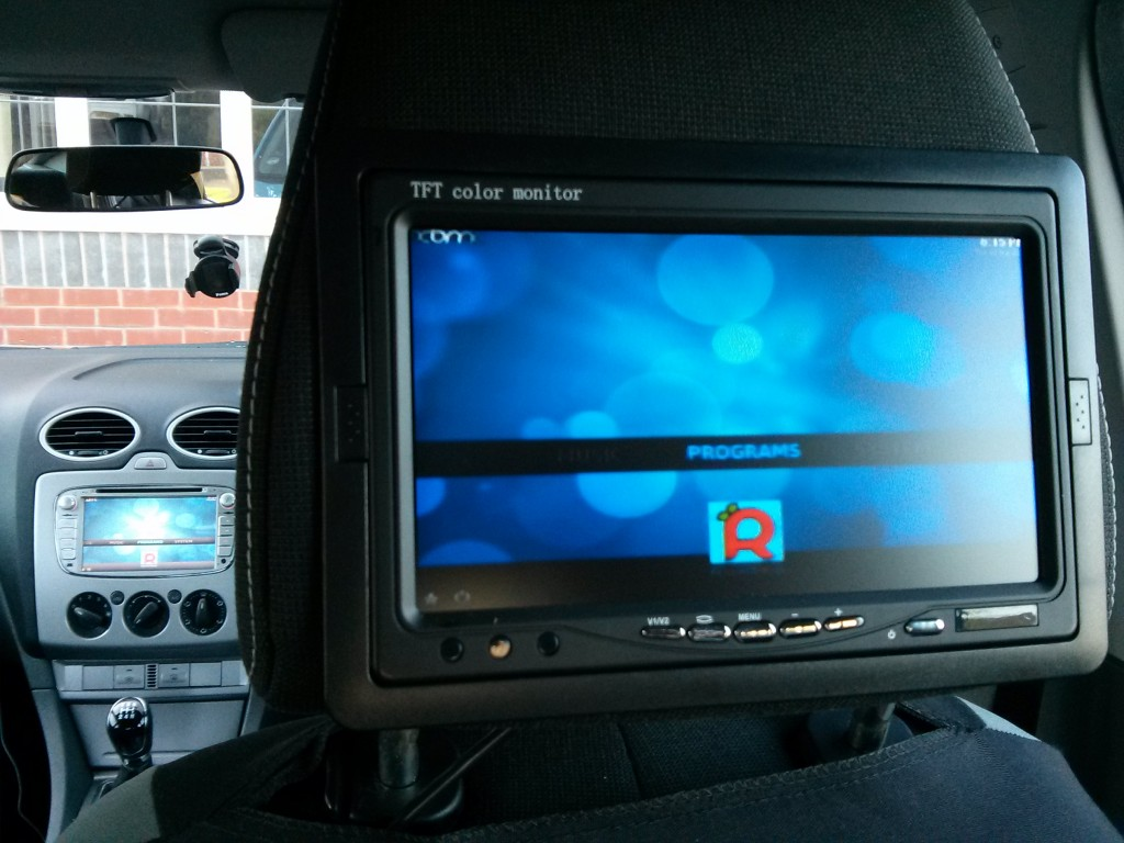 Raspberry Pi Car Computer