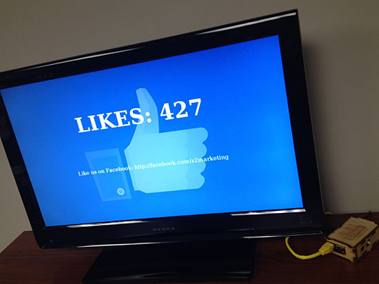 "Build a Raspberry Pi ""Like"" Tracker Kiosk"