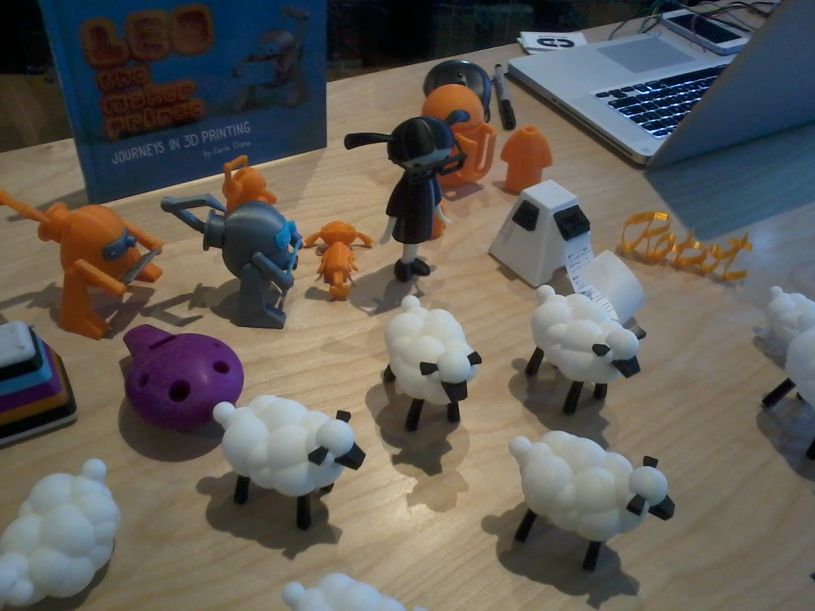 Leo and other 3D printed creatures