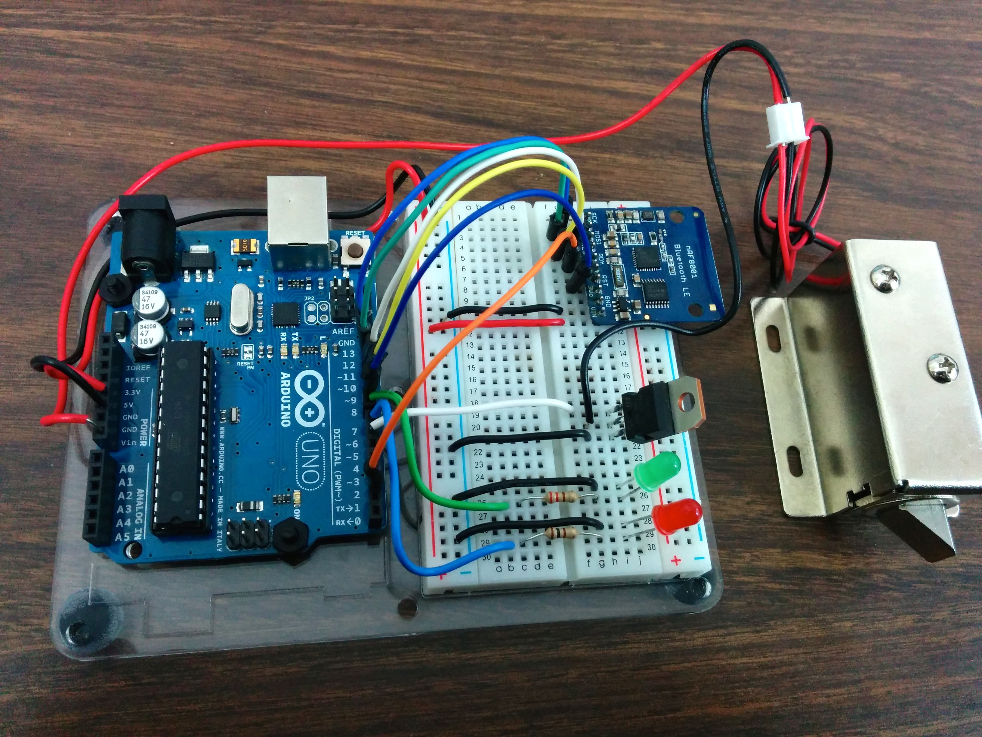 Controlling A Lock With An Arduino And Bluetooth Le Make