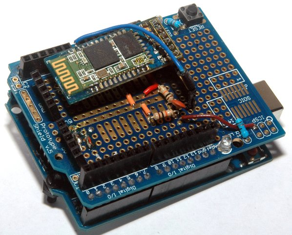 DIY Arduino Bluetooth Programming Shield