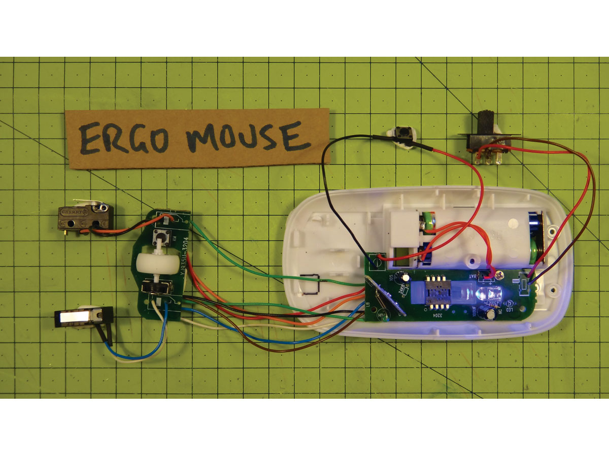 Build a Wireless Ergo Mouse