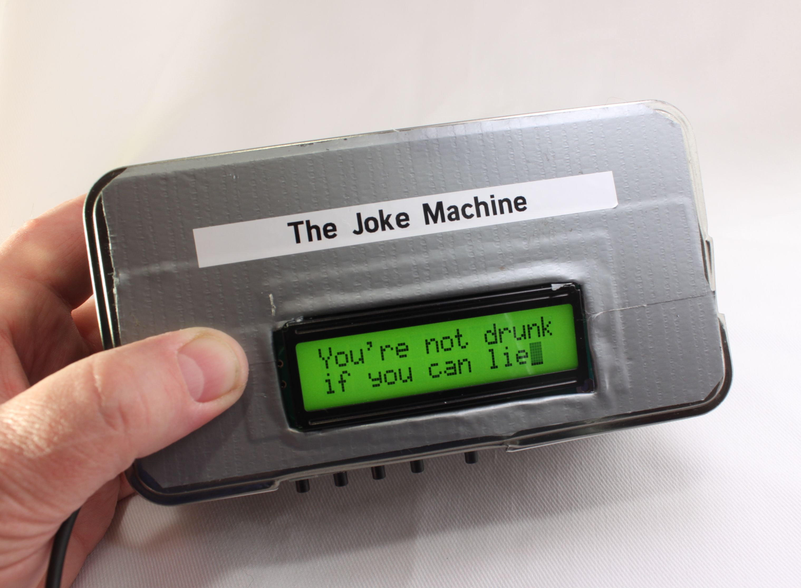 Build a Raspberry Pi Powered Joke Machine