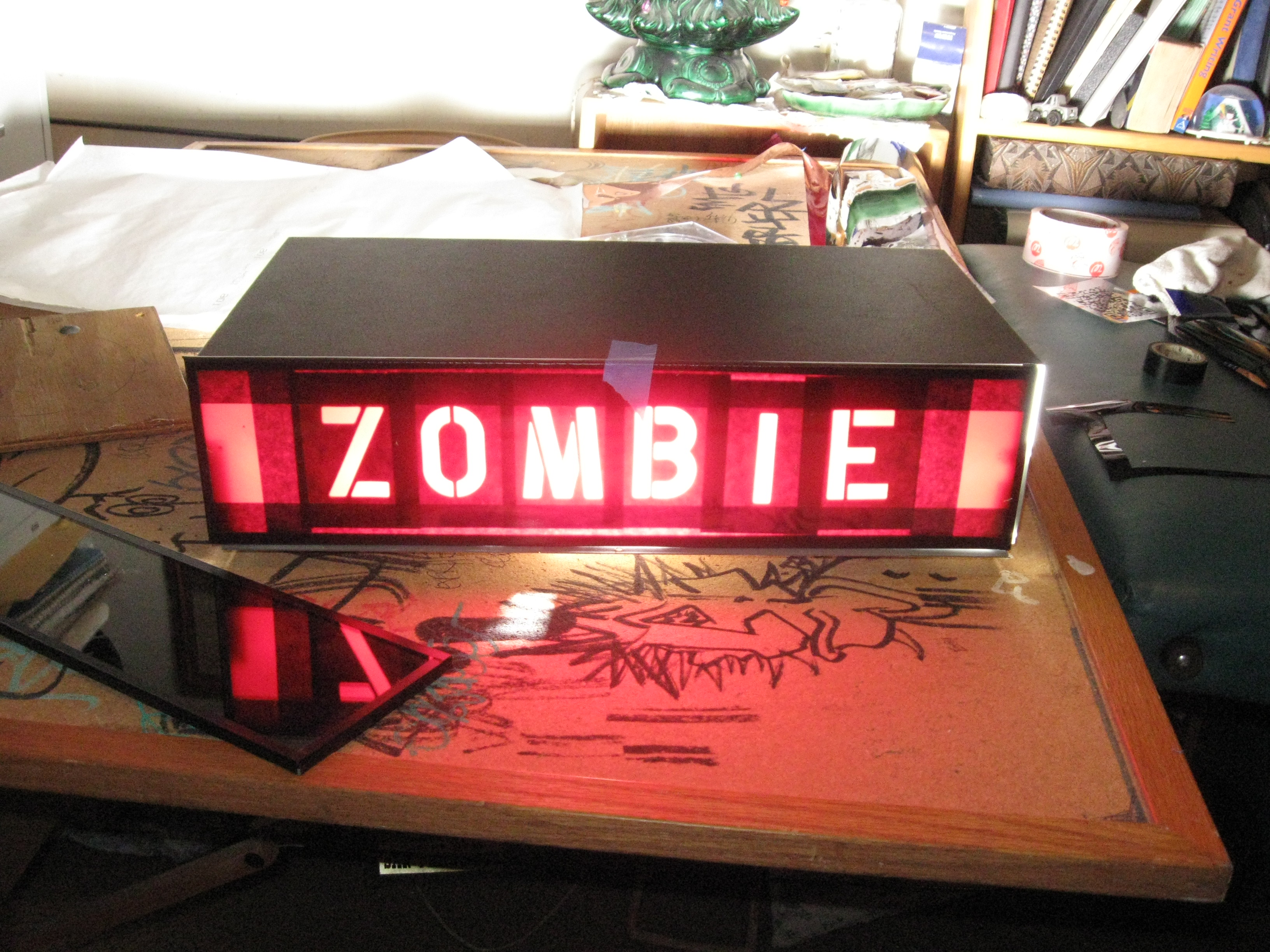 Hidden Message Zombie Detector