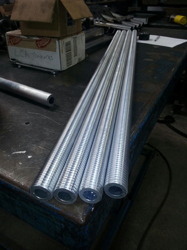 Shiny metal parts!