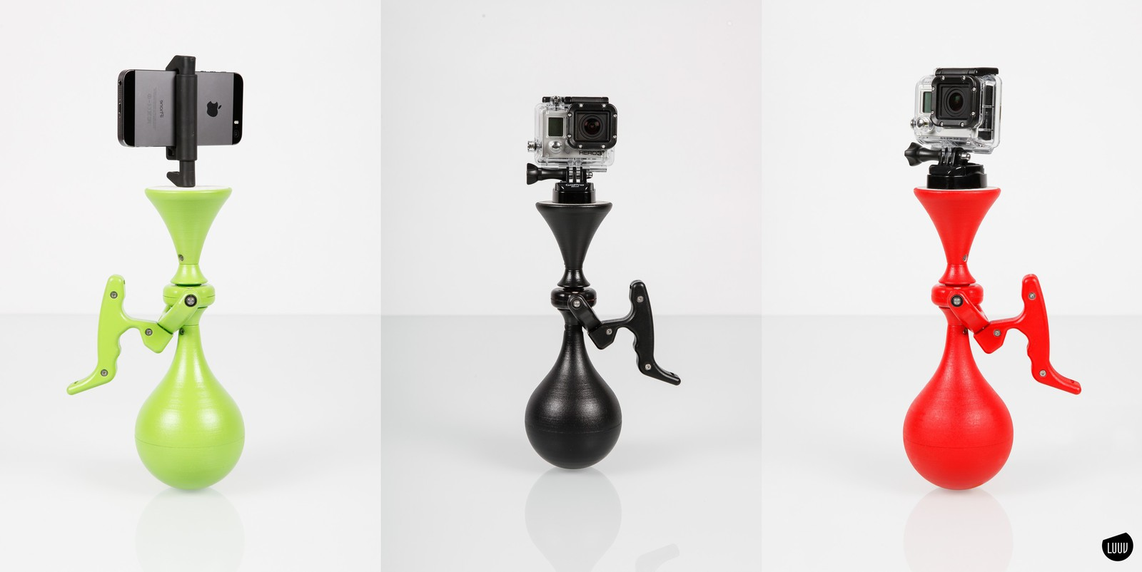 LUUV - The first plug & play camera stabilizer