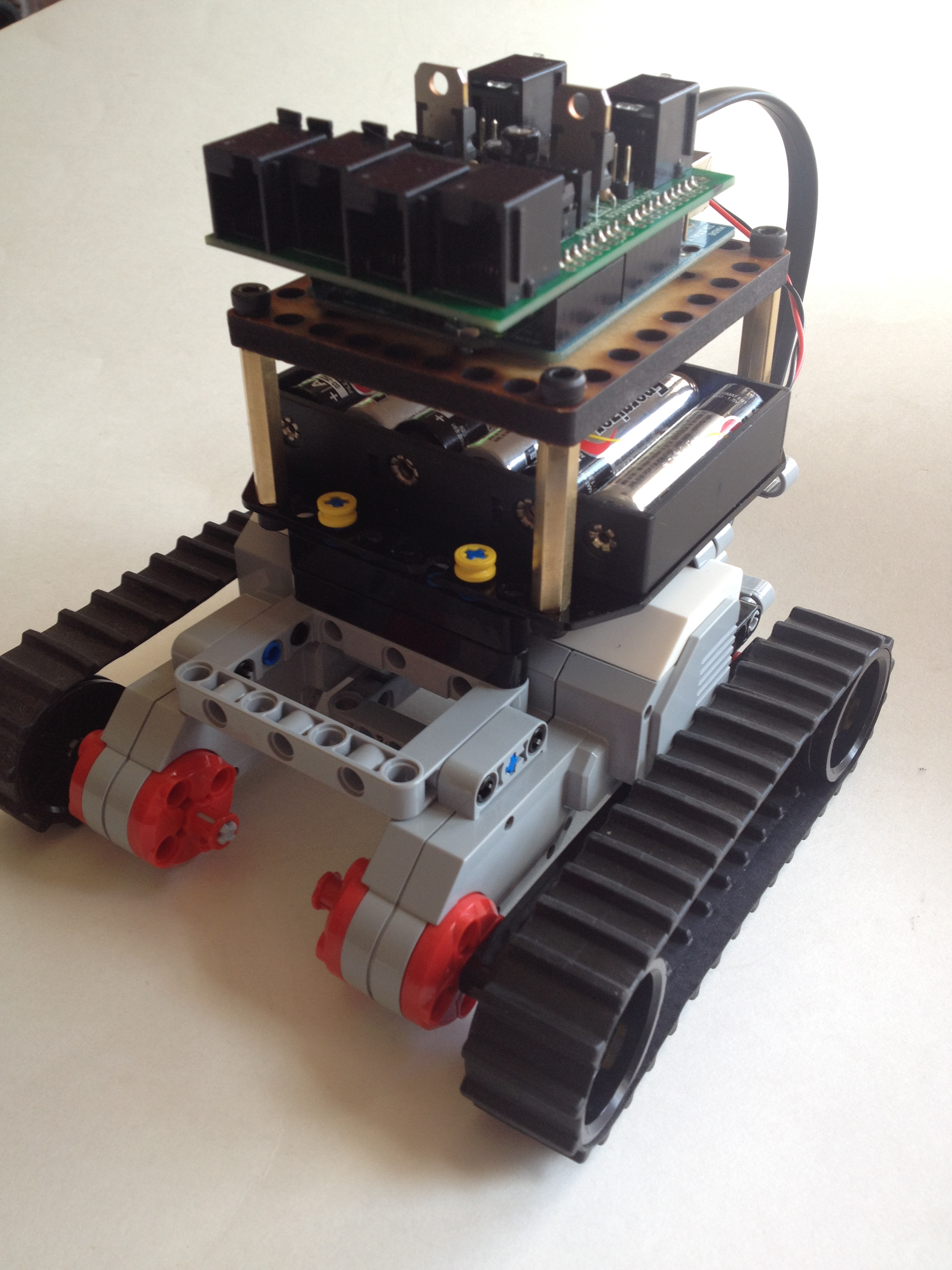 Bricktronics Mini Tank
