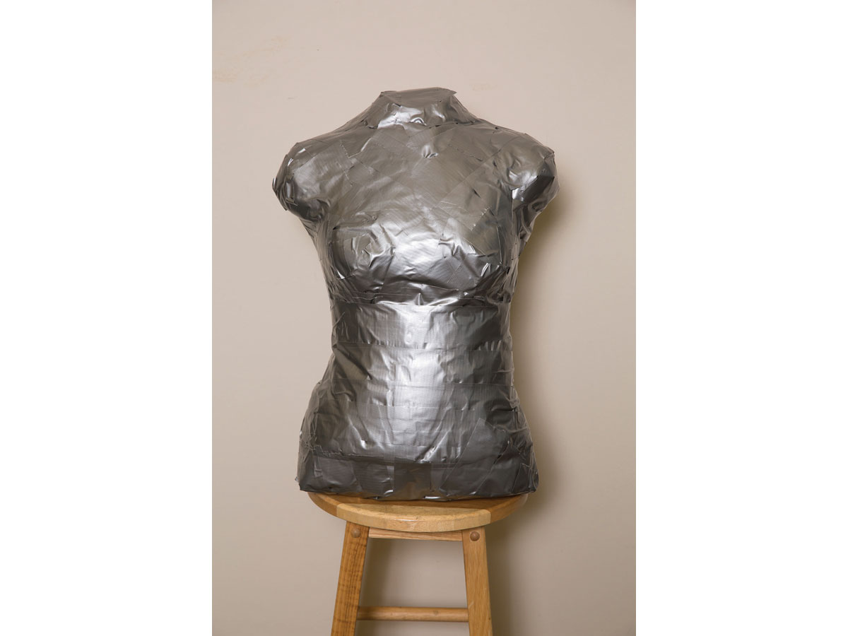 Create a Duct-Tape Mannequin for Custom-Fit Garments
