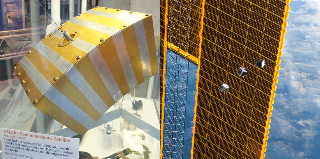 DIY Satellite builders have been at it since 1961