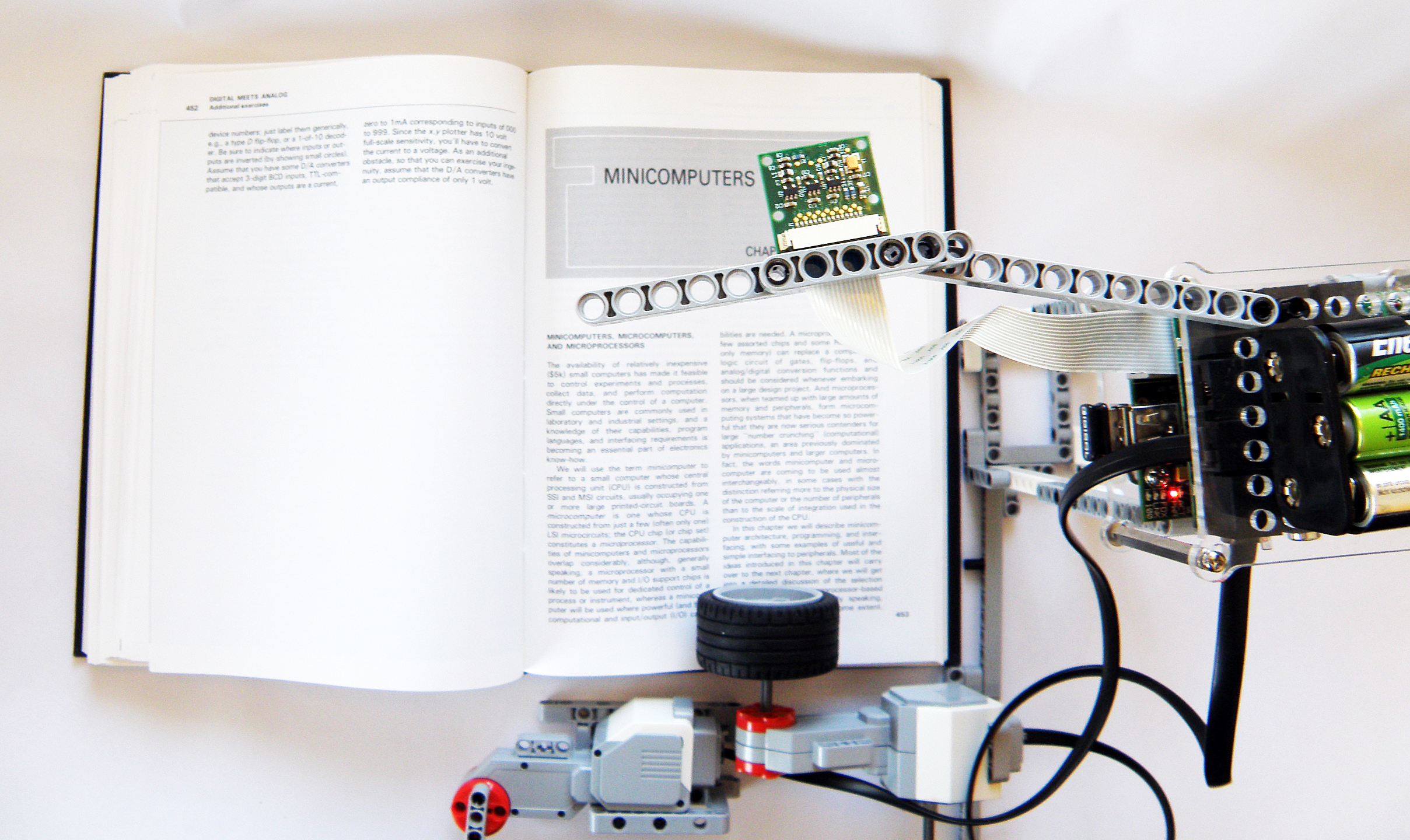 Digitize a book with the Raspberry Pi.