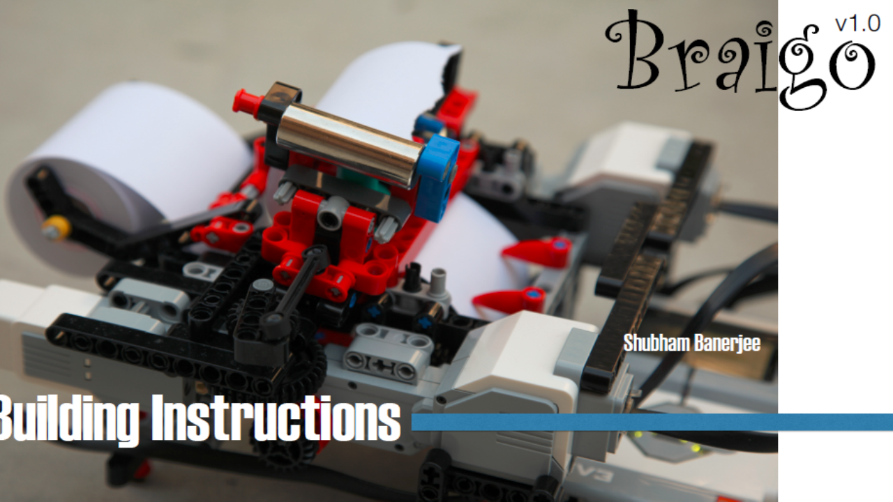 Braigo – A DIY Braille Printer with Lego