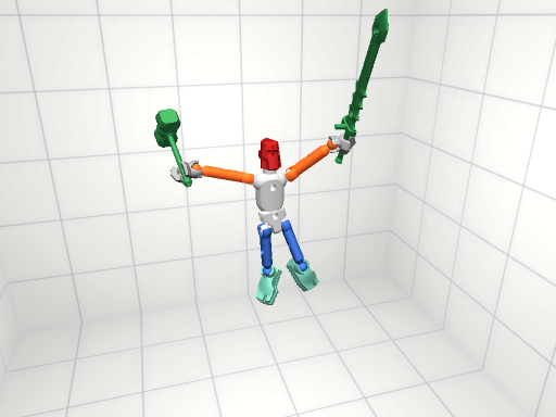 A 3D rendering of a toy created by a Maker Faire attendee.