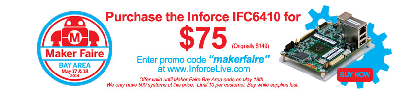 mydragonboard maker faire IFC6410 for 75
