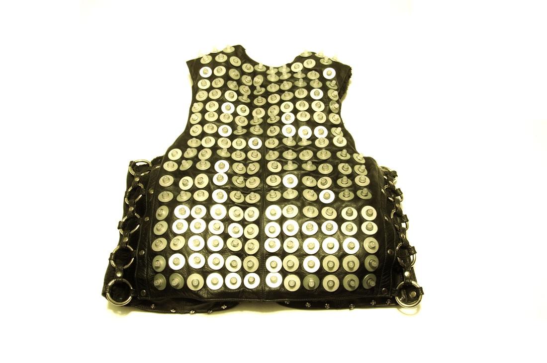 Pixeldelic Vest back
