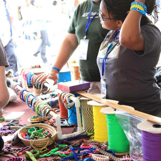 survival gear bracelet