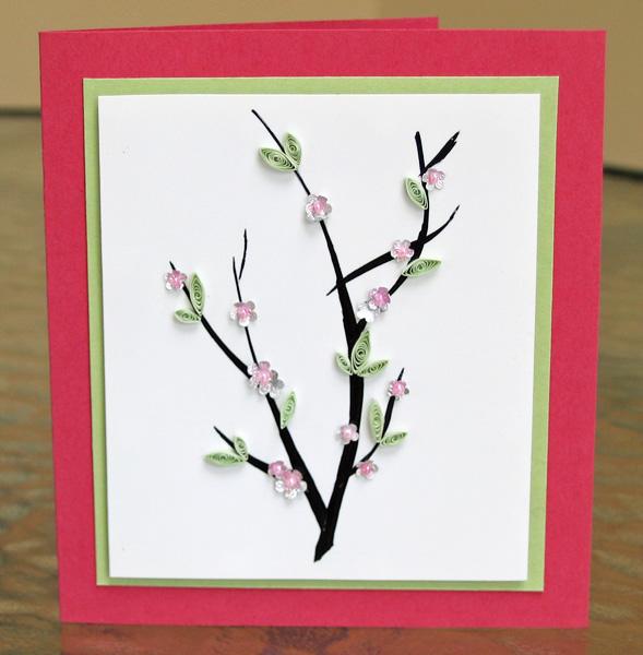 craft_cherry_blossoms_card