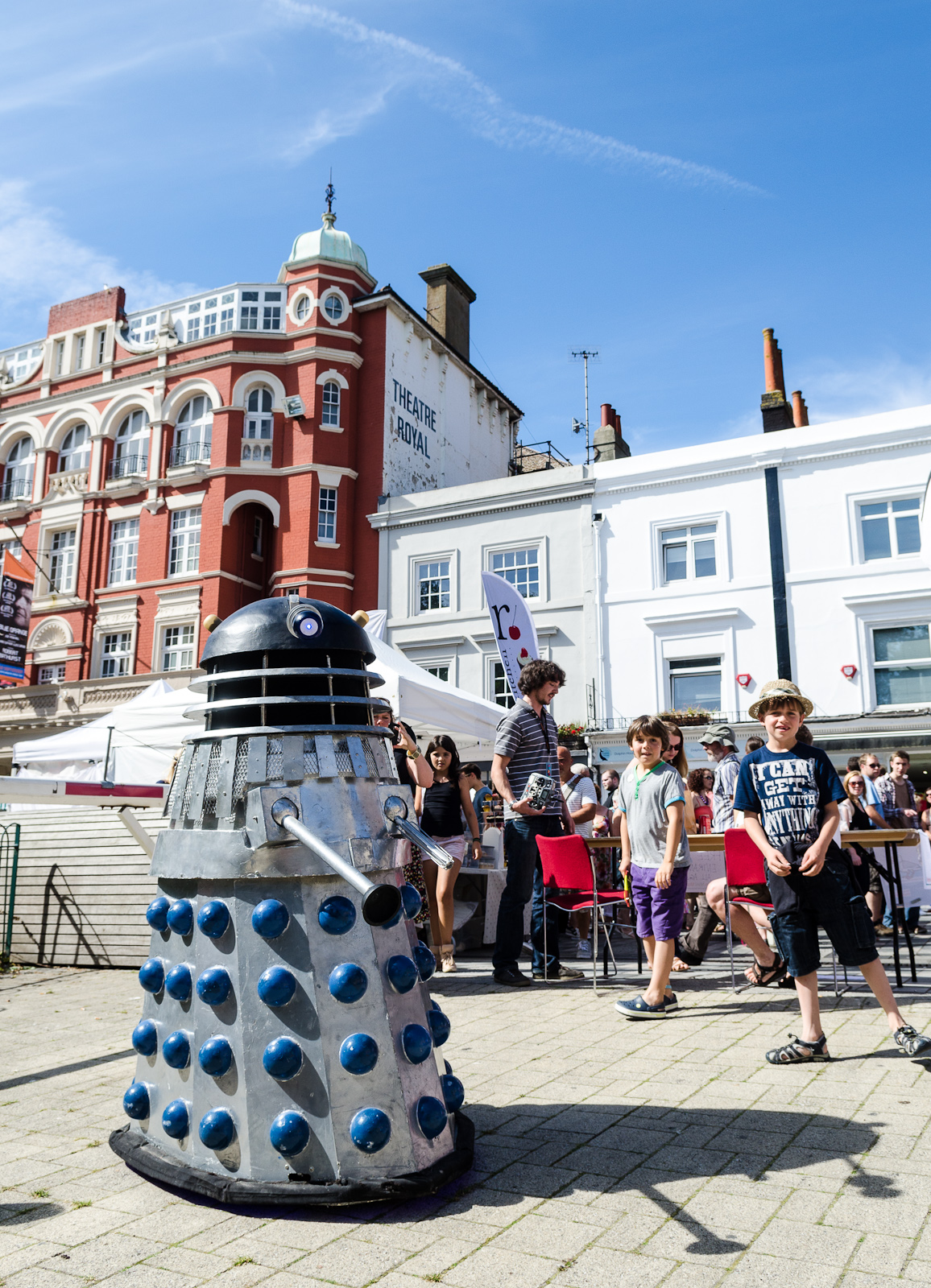 Daleks at Brighton Mini Maker Faire