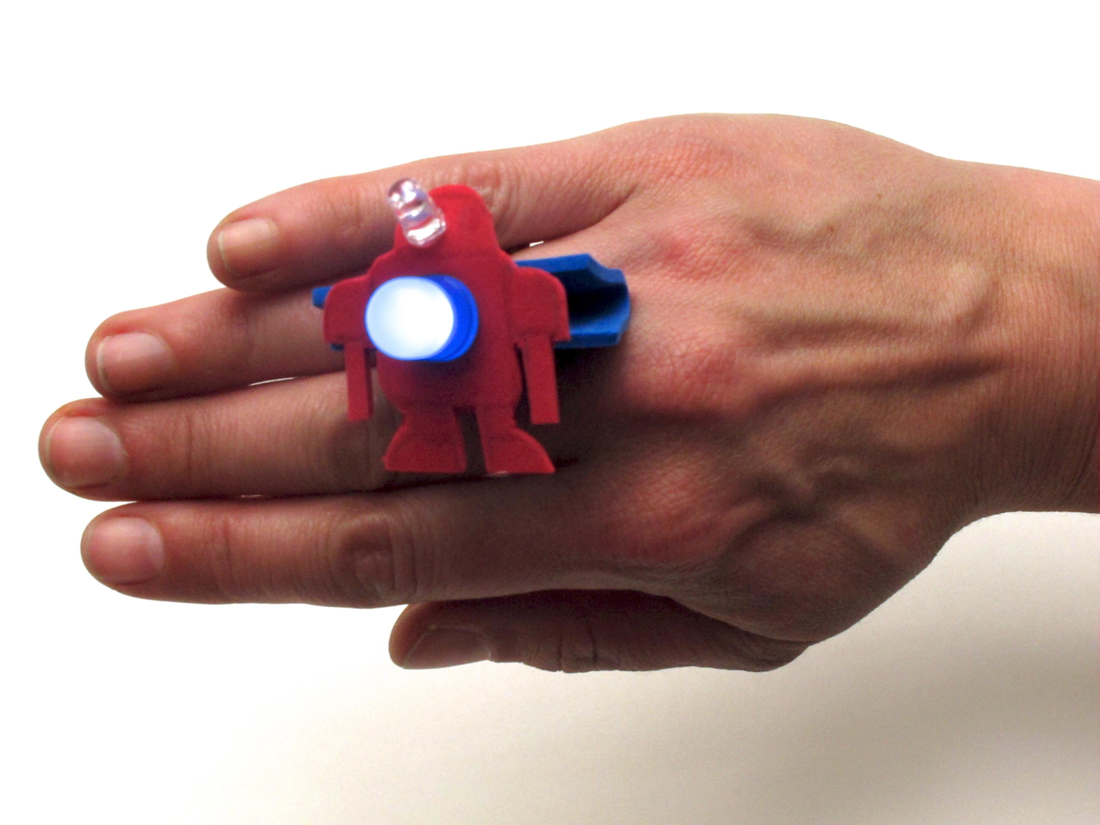 LED Binder ClipBling