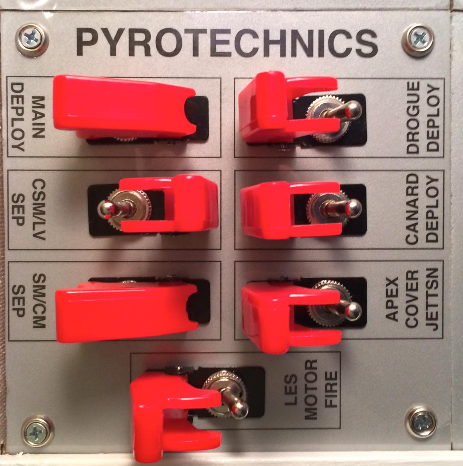 Spaceship Pyrotechnics
