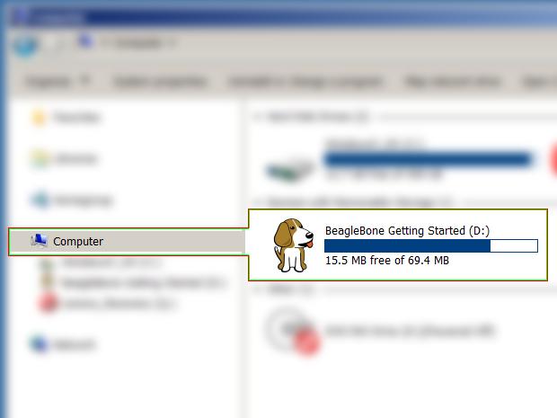 BeagleBone Black: Update to Debian (forWindows)