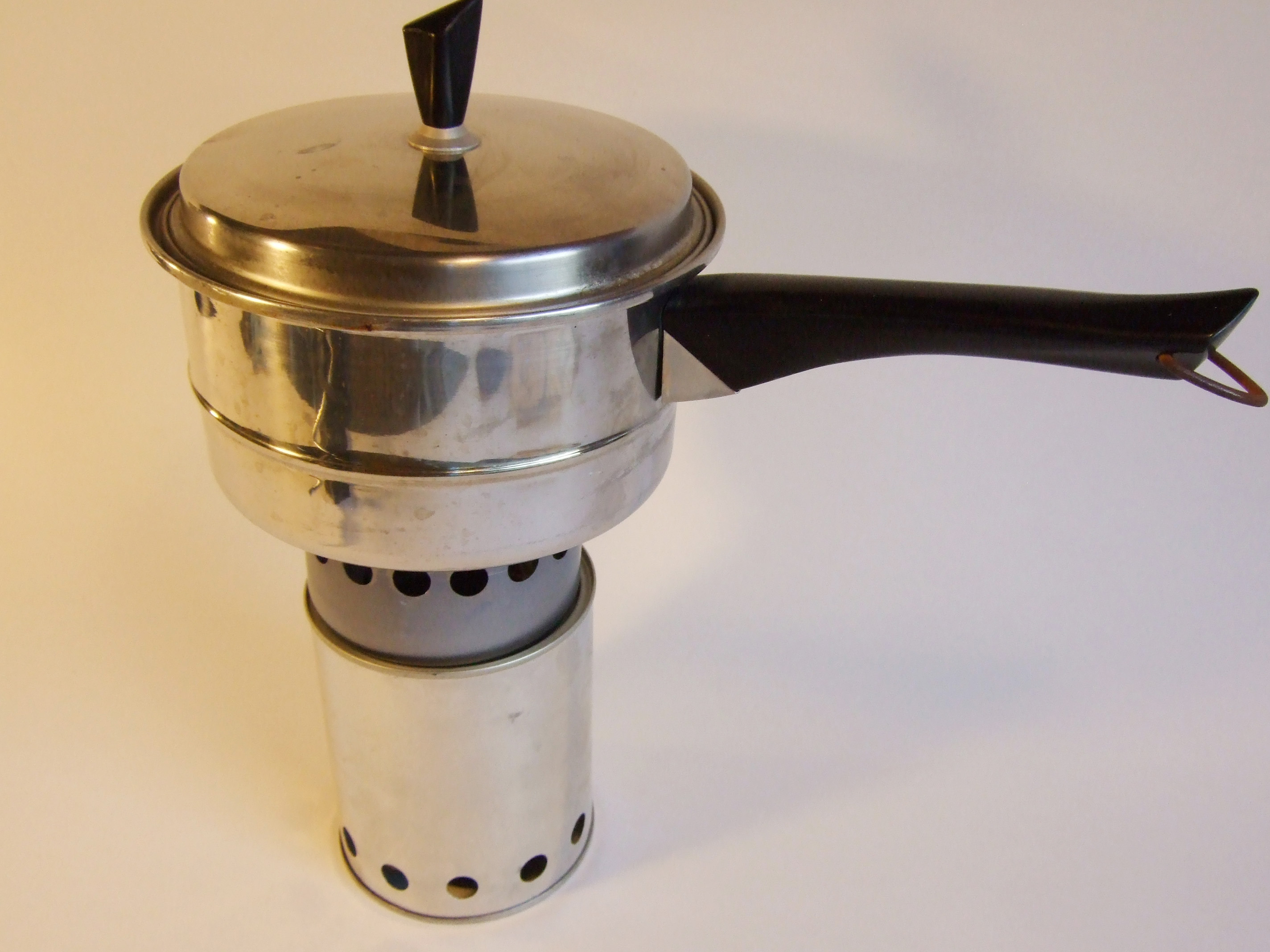 Wood Gas Camp Stove