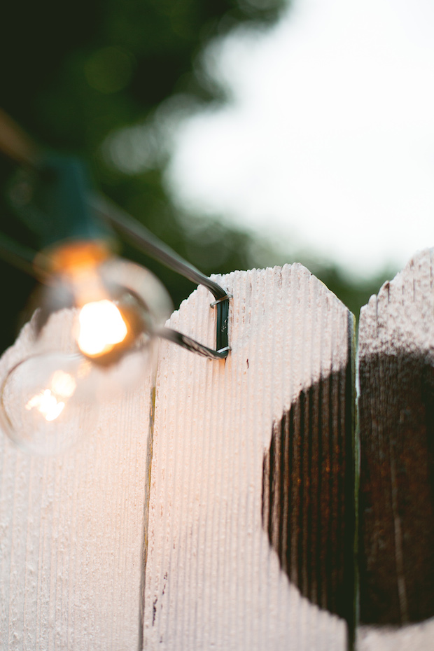 Decor Tips: Hanging String Lights in an Outdoor Space Make: