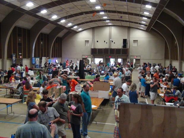 Kingsport Mini Maker Faire Floor