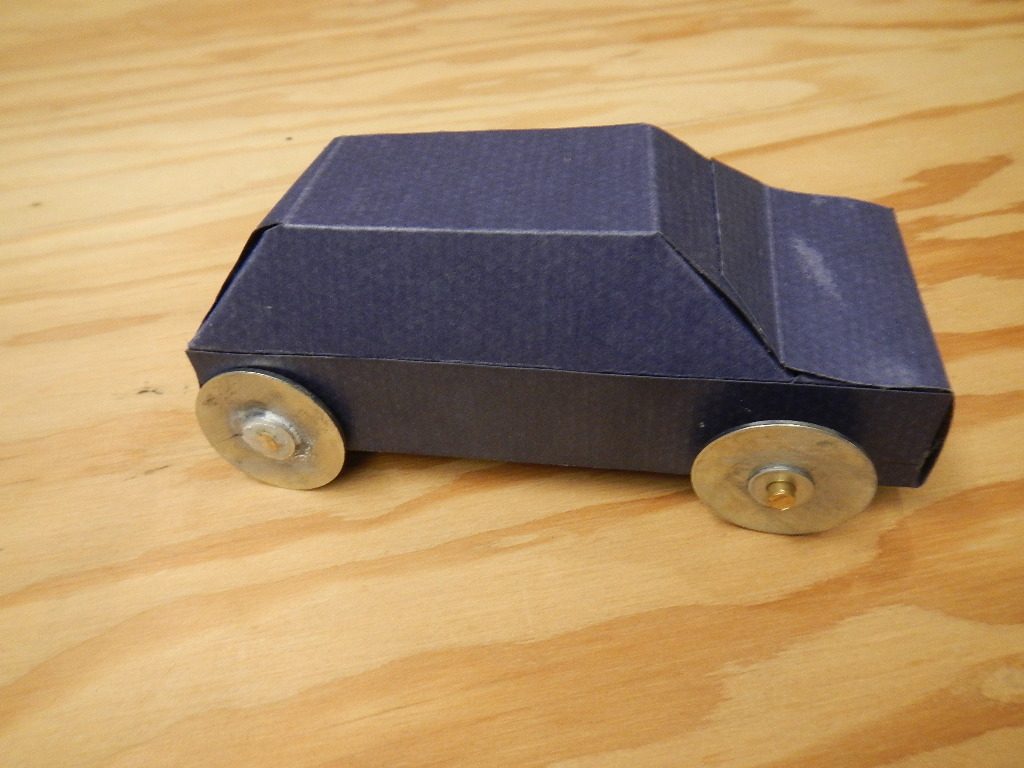 Nerdy Derby Paperboard Car