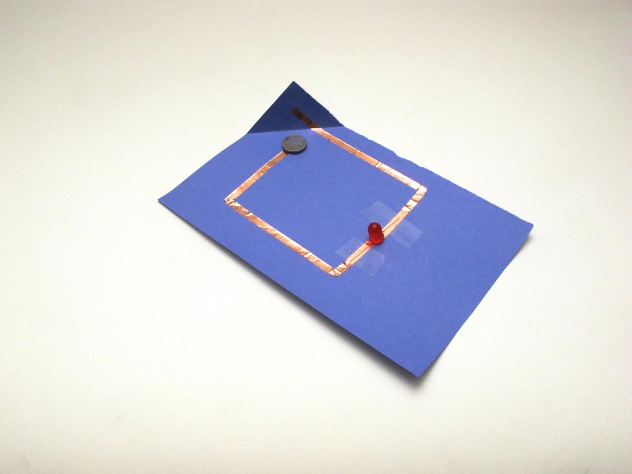 Simple Paper Circuit