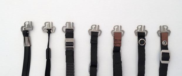 Form exploration for our detachable leash design.